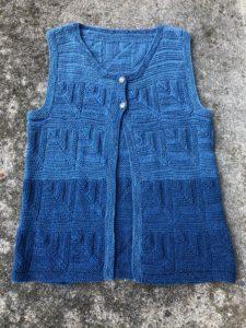 mitered vest