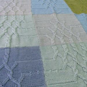 Blue-Green blanket