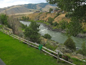 View from Absaroka Lodge