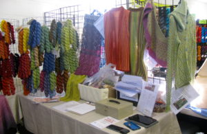 new yarns and samples