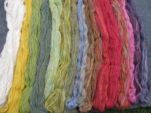Shades of Woolpaca yarn